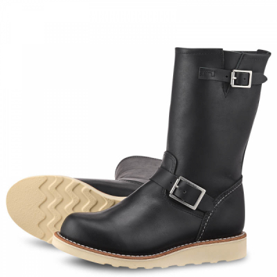 Classic Engineer Style No 3470 - Black Boundary Leather i gruppen Red Wing Stockholm / Dam / Engineer hos Sivletto - Skylark AB (rws3470)