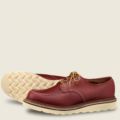 Classic Oxford Style No 8103 - Oro Russet Portage Leather i gruppen Red Wing Stockholm / Herr / Oxford hos Sivletto - Skylark AB (rws8103)