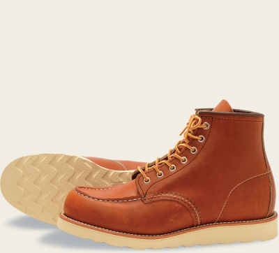 Classic Moc Style No 875 - Oro Legacy Leather i gruppen Red Wing Stockholm / Herr / Moc Toe hos Sivletto - Skylark AB (rws875)