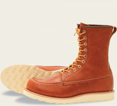 Classic Moc Style No 877 - Oro Legacy Leather i gruppen Red Wing Stockholm / Herr / Moc Toe hos Sivletto (rws877)