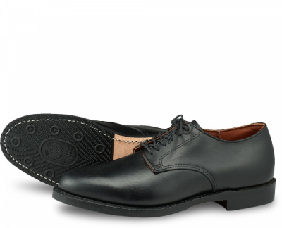 Williston Oxford Style No 9431 - Black Featherstone Leather i gruppen Red Wing Stockholm / Herr / Oxford hos Sivletto - Skylark AB (rws9431)