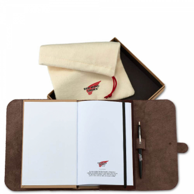 Leather Journal Amber Frontier Leather i gruppen Red Wing Stockholm / Accessoarer hos Sivletto (rws95031)