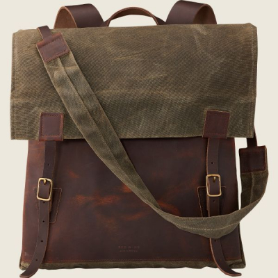 Wacouta Backpack Tan Waxed Canvas/Copper Rough & Tough i gruppen Red Wing Stockholm / Accessoarer / Väskor hos Sivletto - Skylark AB (rws95068)