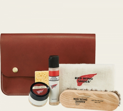 Leather Travel Care Kit i gruppen Red Wing Stockholm / Skovård hos Sivletto - Skylark AB (rws97093)