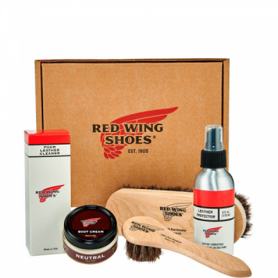 Smooth-Finished Leather Product Care Kit i gruppen Red Wing Stockholm / Skovård hos Sivletto - Skylark AB (rws97097)