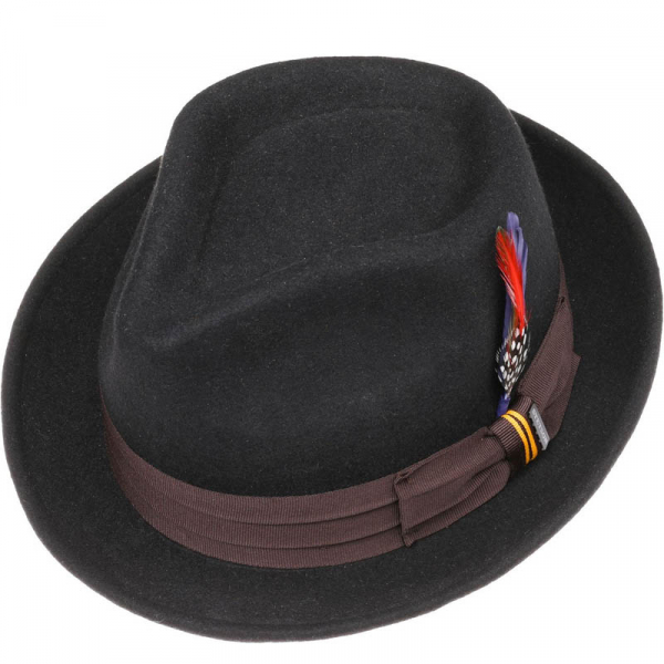 3336c53be79691 Stetson Player Woolfelt Hat Black