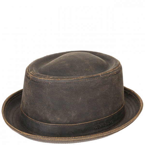 bdabde3e99e650 Stetson Odenton Pork Pie Hat Brown