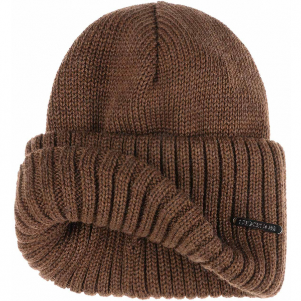 1844dda4de4 Stetson Northport Beanie Light Brown