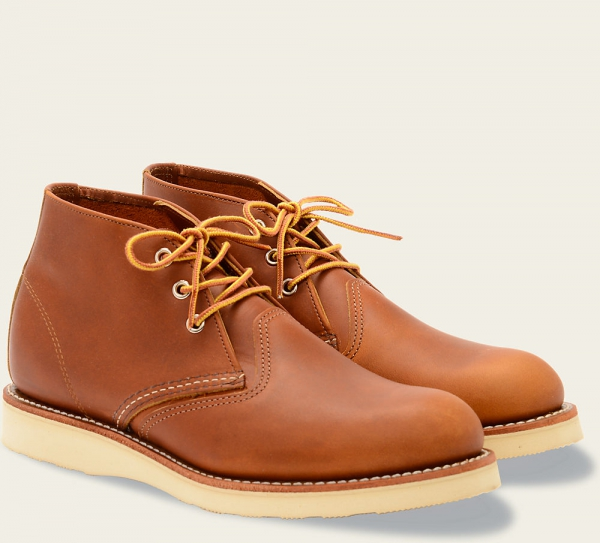 Work Chukka Style No 3140 Oro Iginal Leather Red Wing