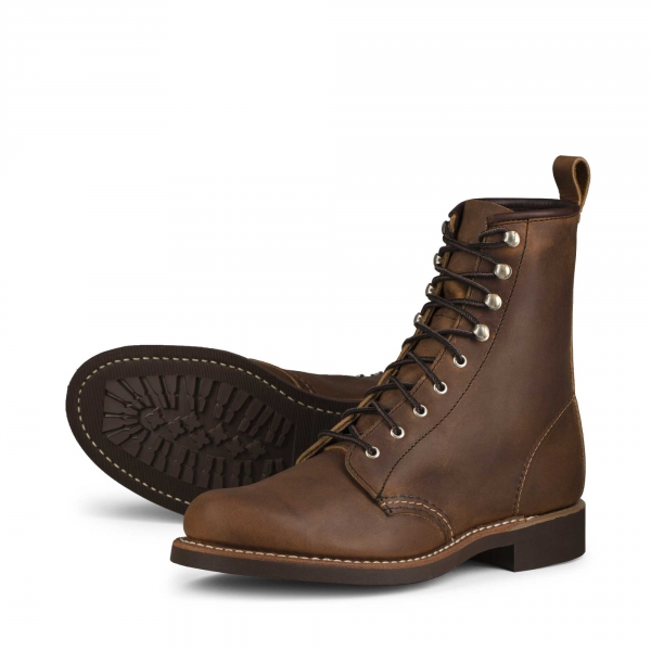 27545c0d98b Silversmith Style No 3362 - Copper Rough & Tough Leather i gruppen Red Wing  Stockholm /