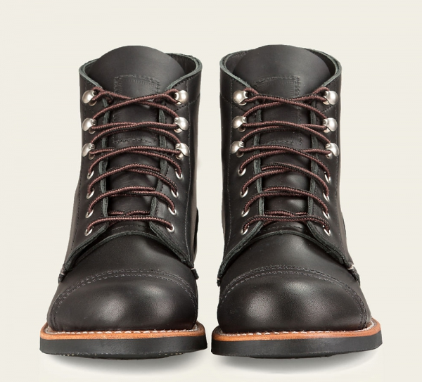 Iron Ranger Style No 3366 Black Boundary Leather Red Wing Stockhol