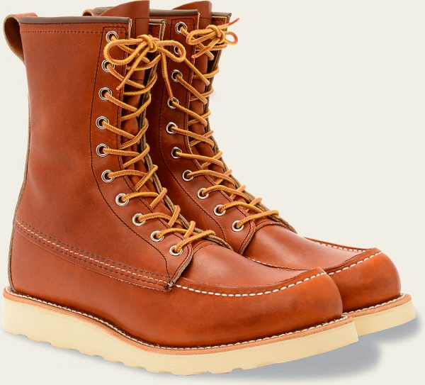 Classic Moc Style No 877 Oro Legacy Leather Red Wing