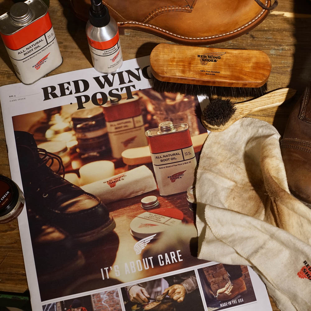 8d46362293e Red Wing Post nummer 4 ute nu!
